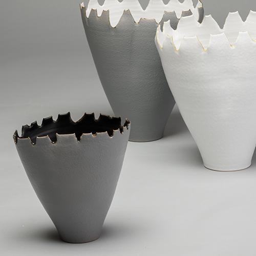 Collezione Gusci complementi d'arredo ceramica