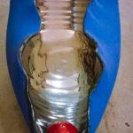 ceramica artistica moderna LA CLITORIDE BLU