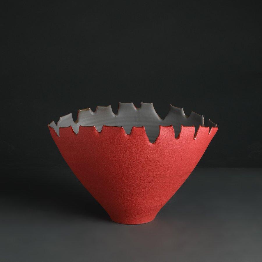 vaso ceramica design gusci eva mun