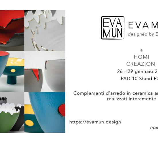 invito EVA MUN homi Milano 2018